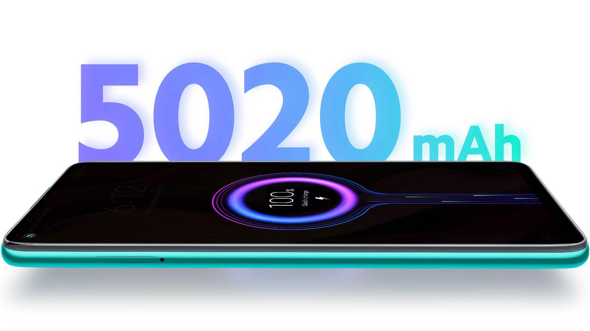 A fabricante afirma que a bateria do Redmi Note 9 dura até dois dias em uso moderado. (Foto: Divulgação/Xiaomi)