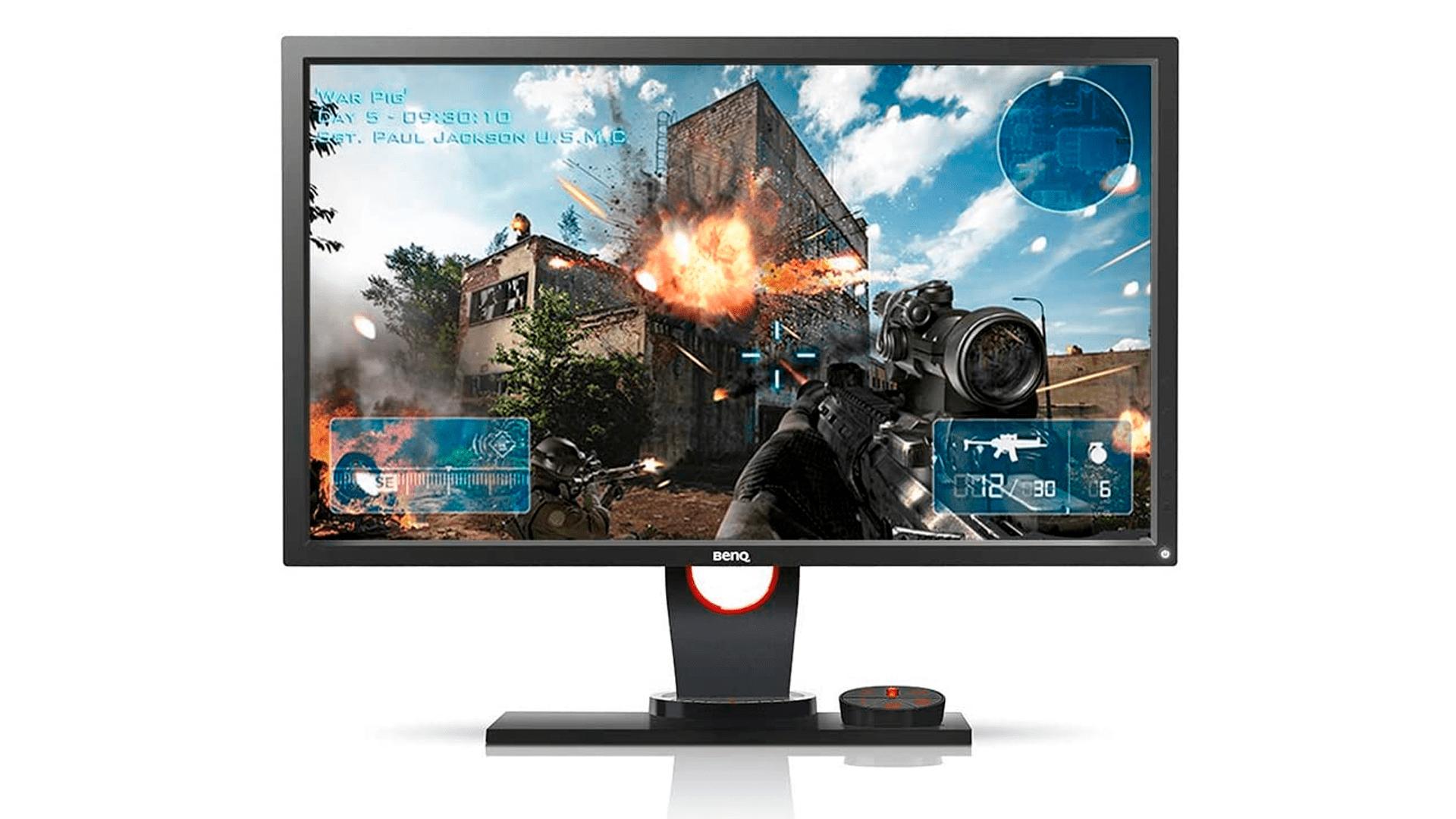 """O monitor Led 24"""" Zowie Full HD XL2430 possui ótimas tecnologias para games (Foto: Divulgação/BenQ)"""