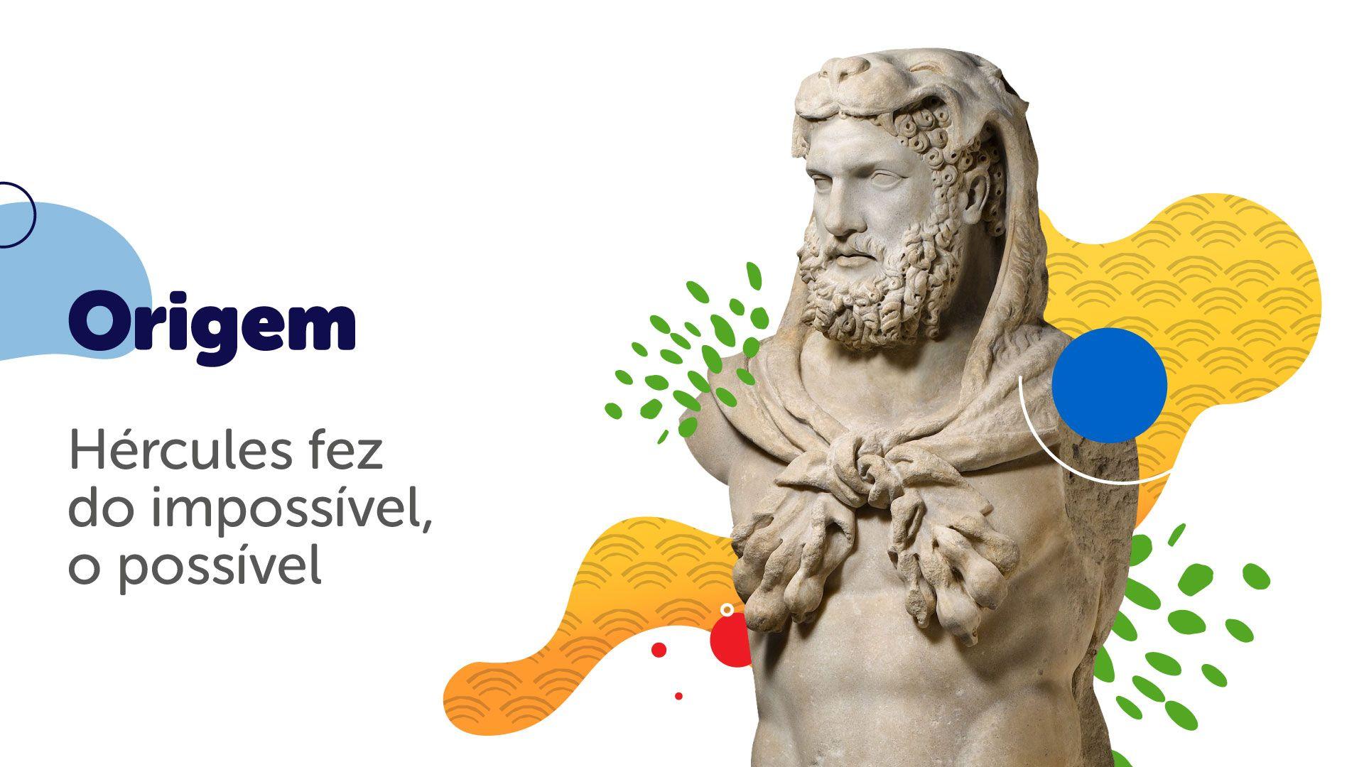 Na mitologia, Hércules teria sido o fundador das Olimpíadas (Arte/Zoom)