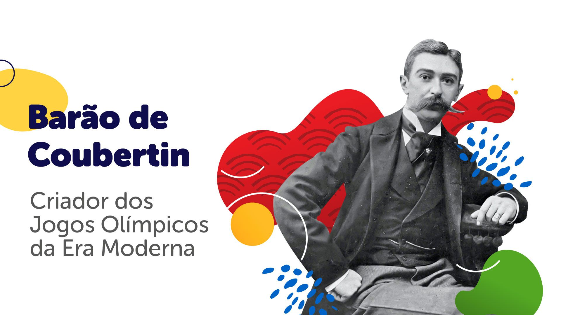 Criador das Olimpíadas da Era Moderna foi Pierre de Coubertin (Arte/Zoom)