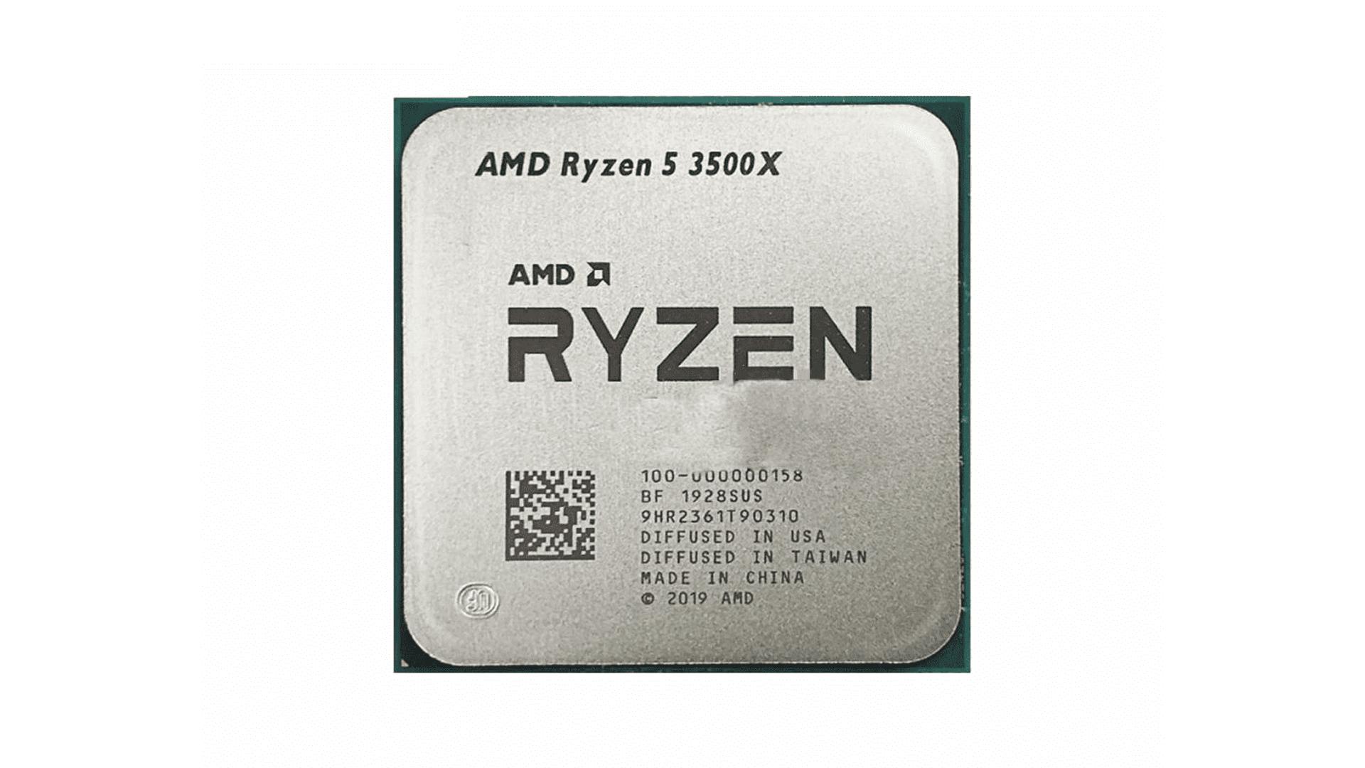 O Ryzen 5 3500X tem TDP de 65W (Foto: Divulgação/AMD)