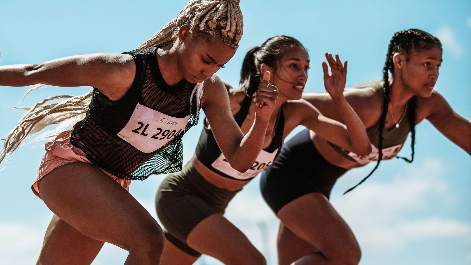 Atletismo é um dos esportes olímpicos tradicionais (Shutterstock)