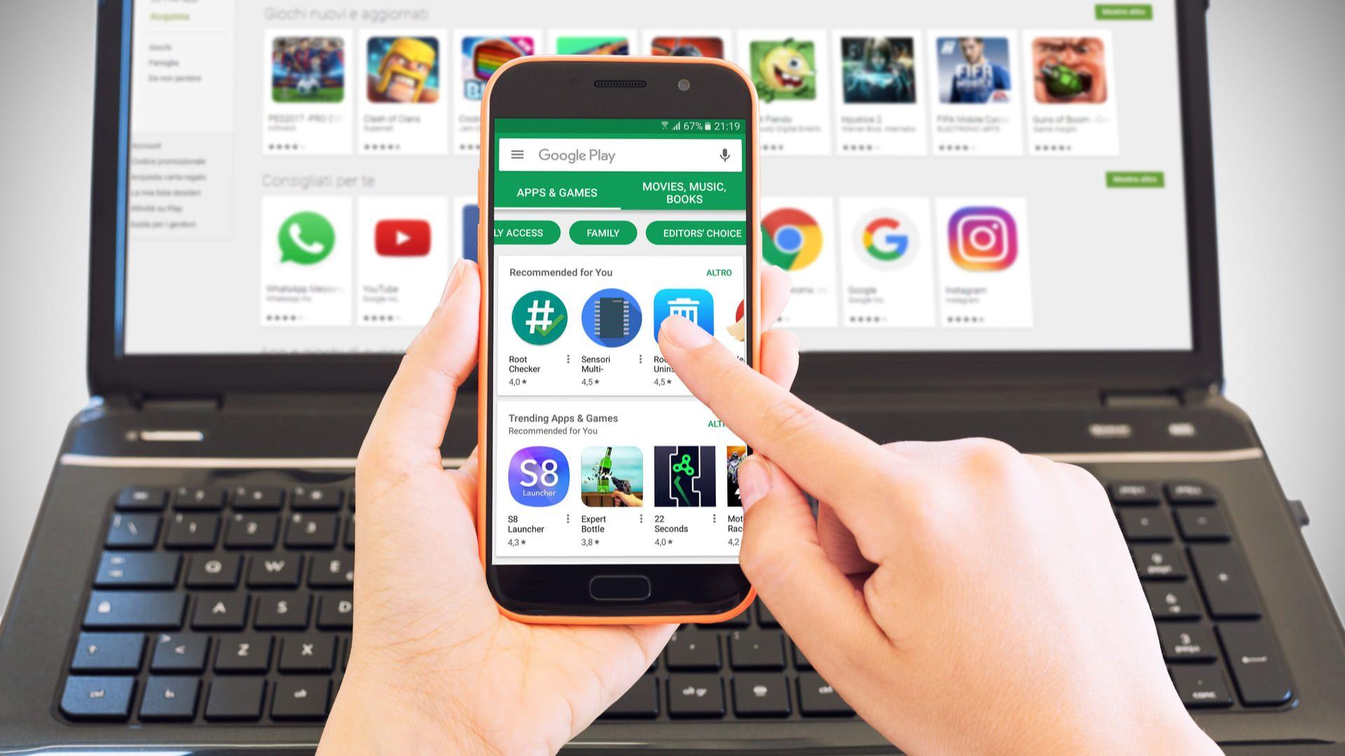 Não é difícil baixar Play Store para PC e aproveitar todos os apps no computador (Foto: Shutterstock/Stefano Garau)