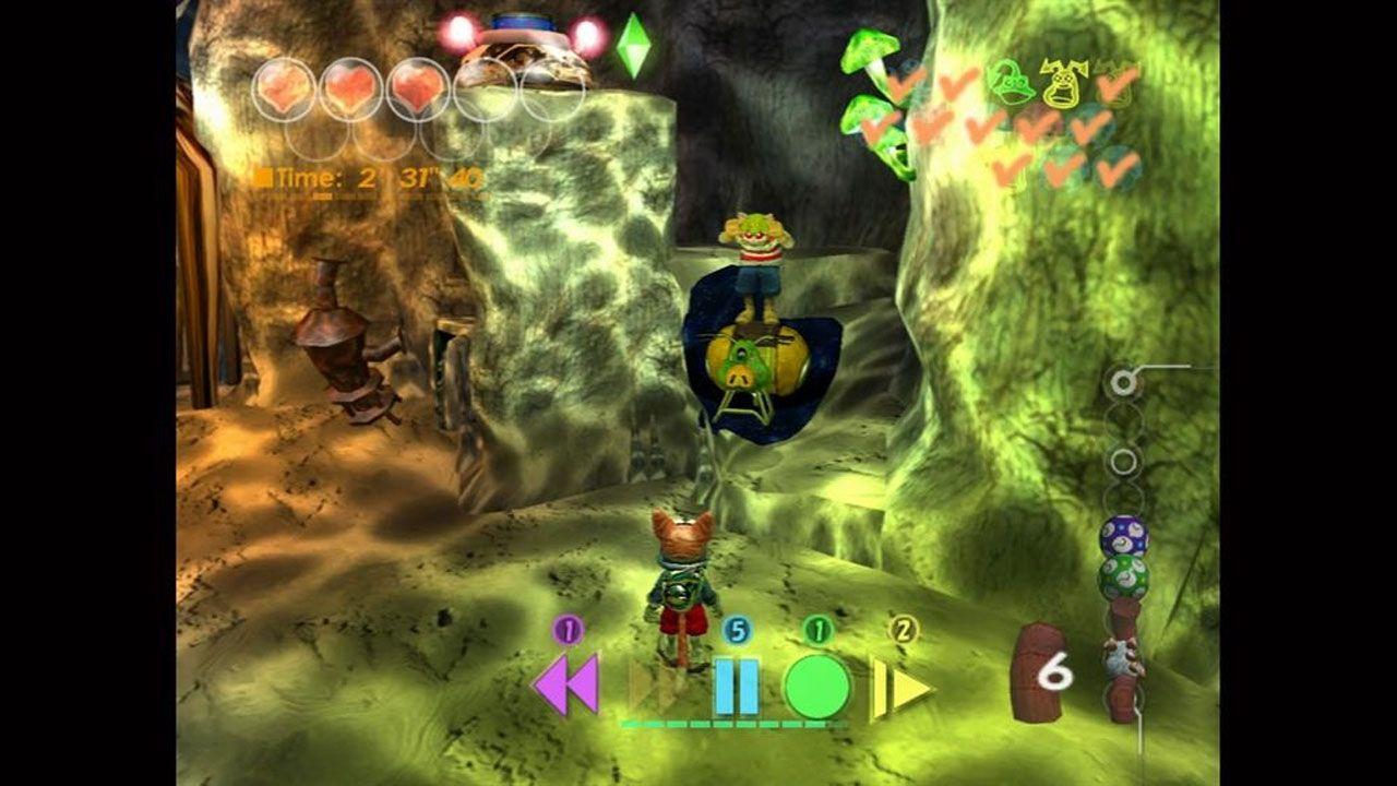Imagem do jogo onde mostra um personagem tentando passar por outro
