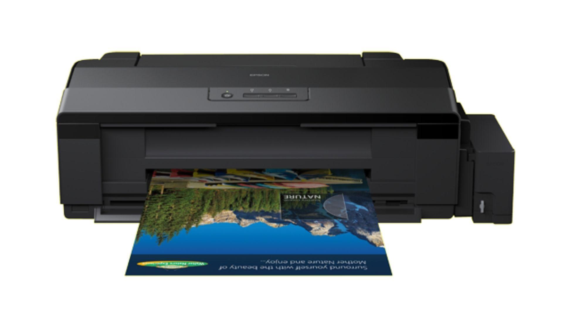 A impressora bulk ink Epson L1800 garante impressões de qualidade profissional (Divulgação/ Epson)