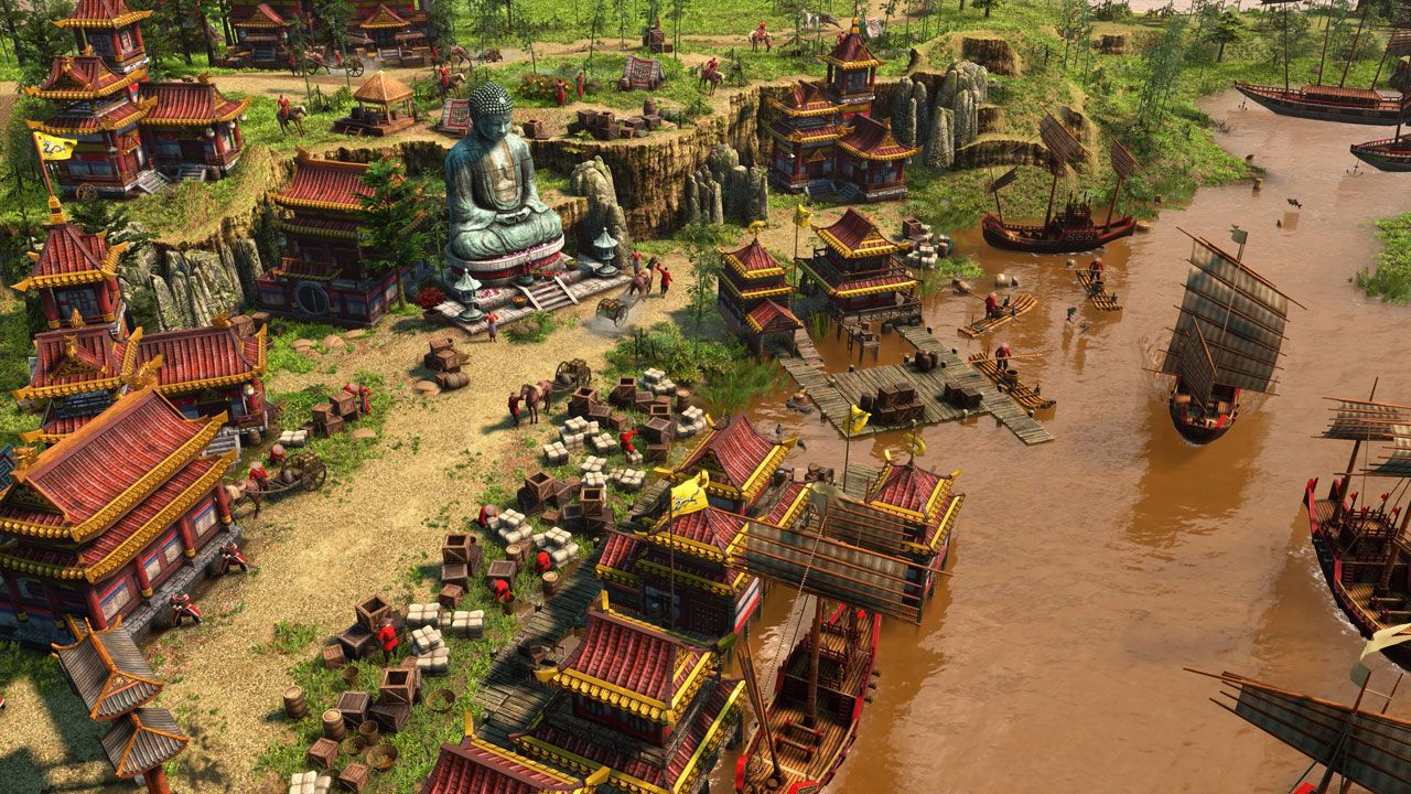 Age of Empires 3 é uma das séries mais reconhecidas entre os jogos de estratégia (Reprodução: Steam)