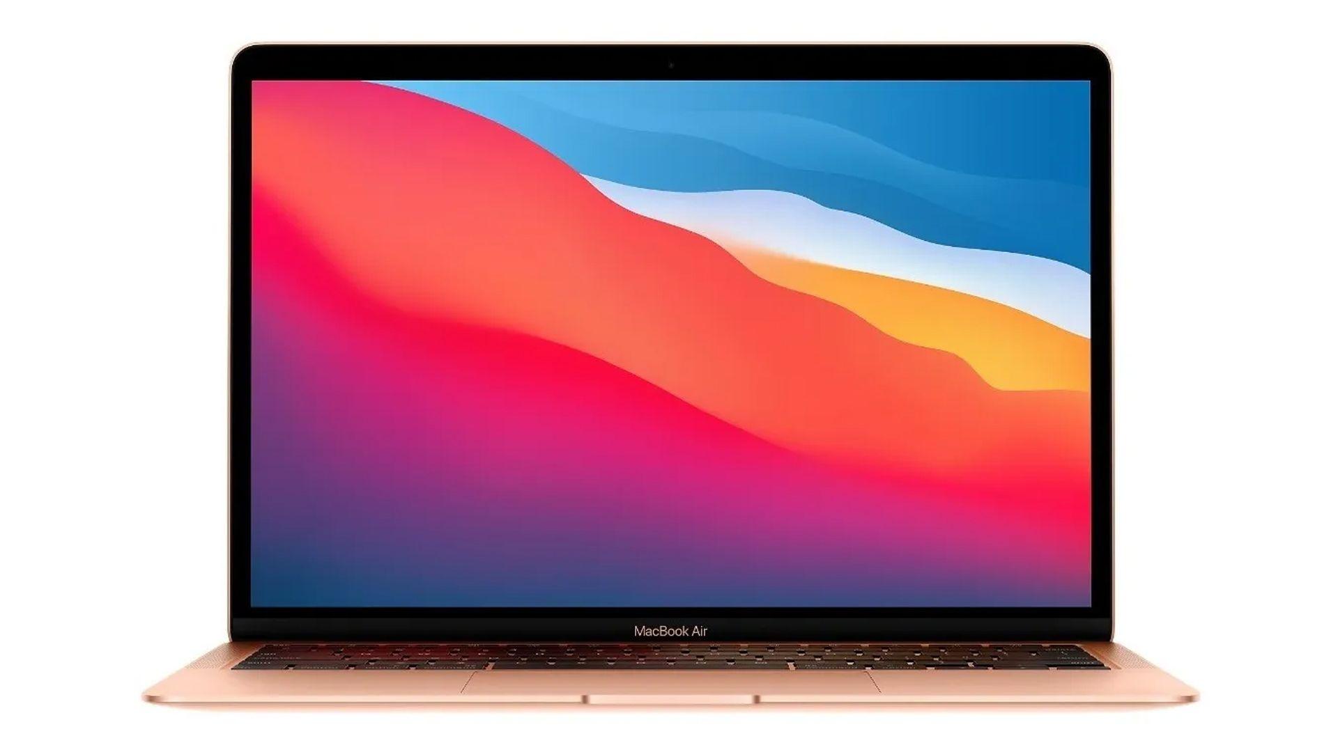 O Macbook Apple Air garante boa velocidade e desempenho. (Fonte: Reprodução)