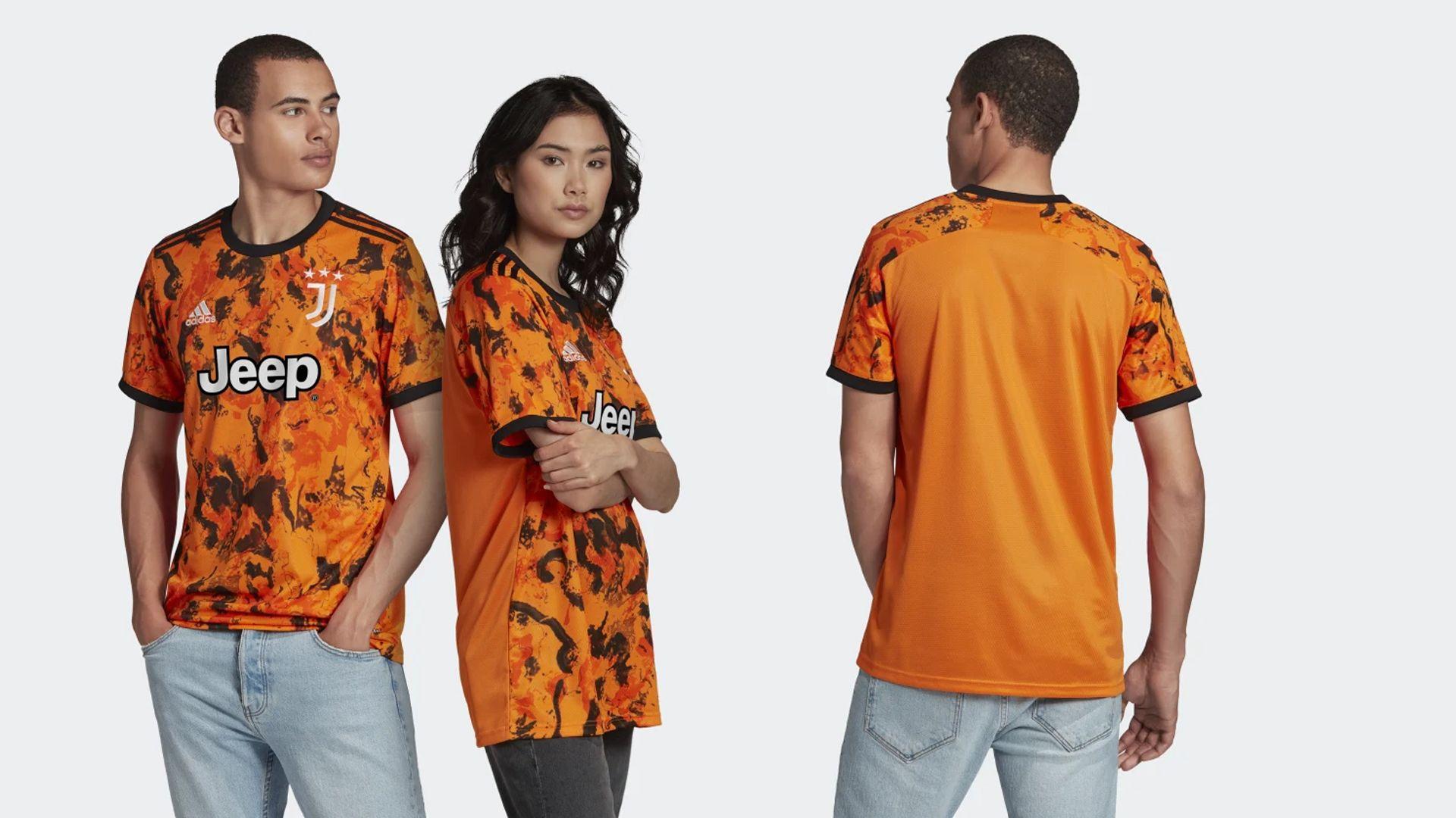 Camisa da Juventus Laranja (Imagem: Divulgação/Adidas)