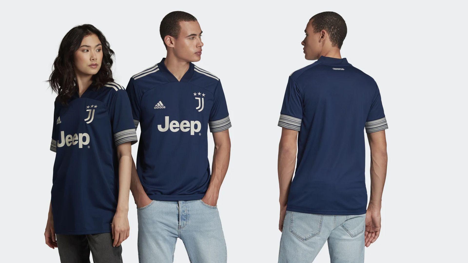 Camisa da Juventus Azul (Imagem: Divulgação/Adidas)
