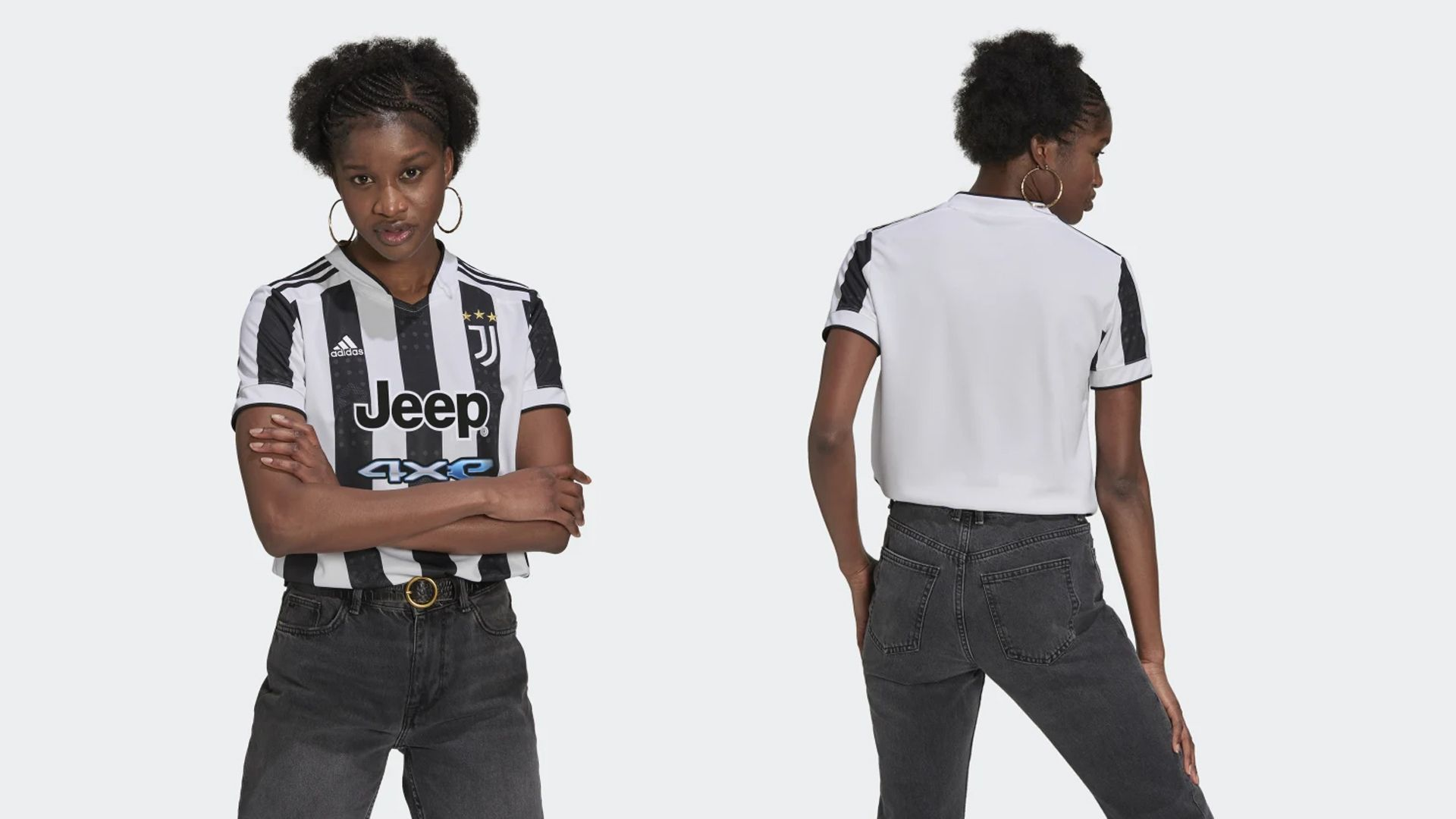 Camisa da Juventus Feminina (Imagem: Divulgação/Adidas)