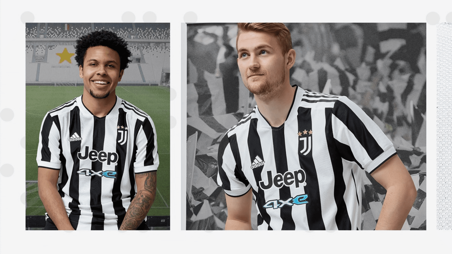 Conheça os modelos de camisa da Juventus para comprar em 2021! (Imagem: Divulgação/Adidas)