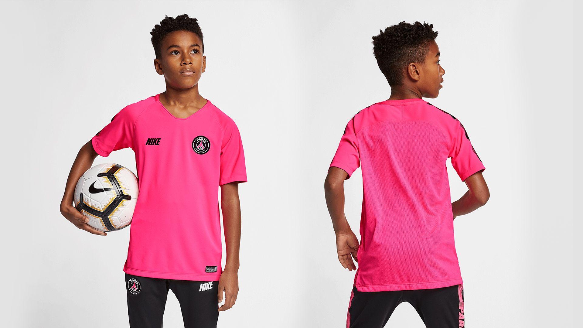 Camisa do PSG Rosa (Imagem: Divulgação/Nike)