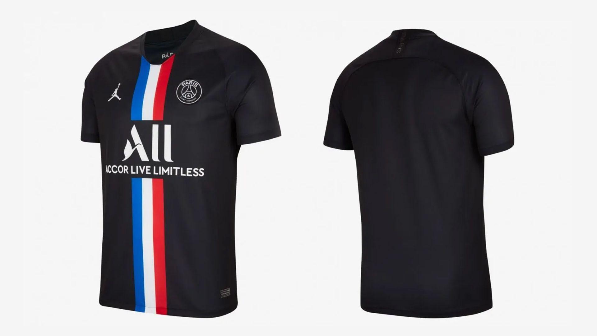 Camisa do PSG Preta (Imagem: Divulgação/Nike)
