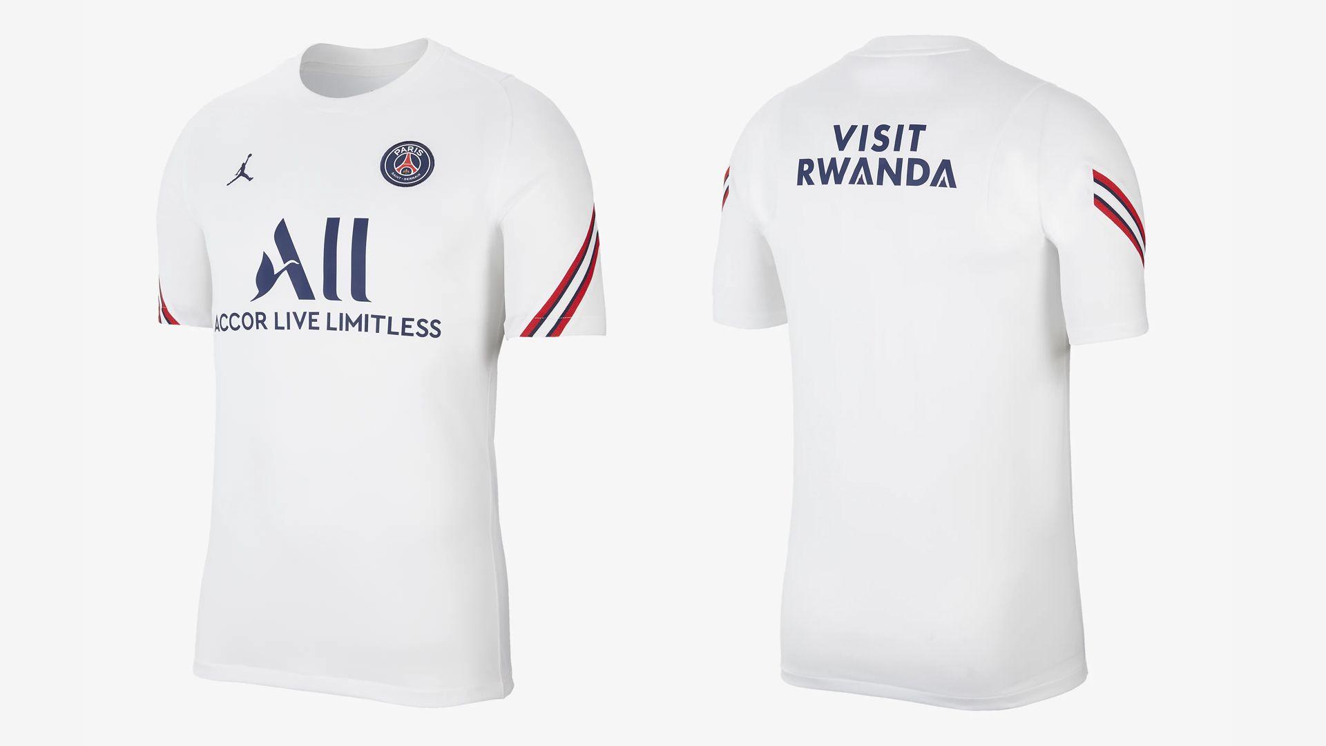 Camisa do PSG Branca (Imagem: Divulgação/Nike)