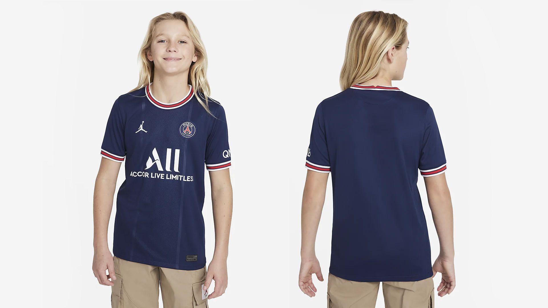 Camisa do PSG Infantil (Imagem: Divulgação/Nike)