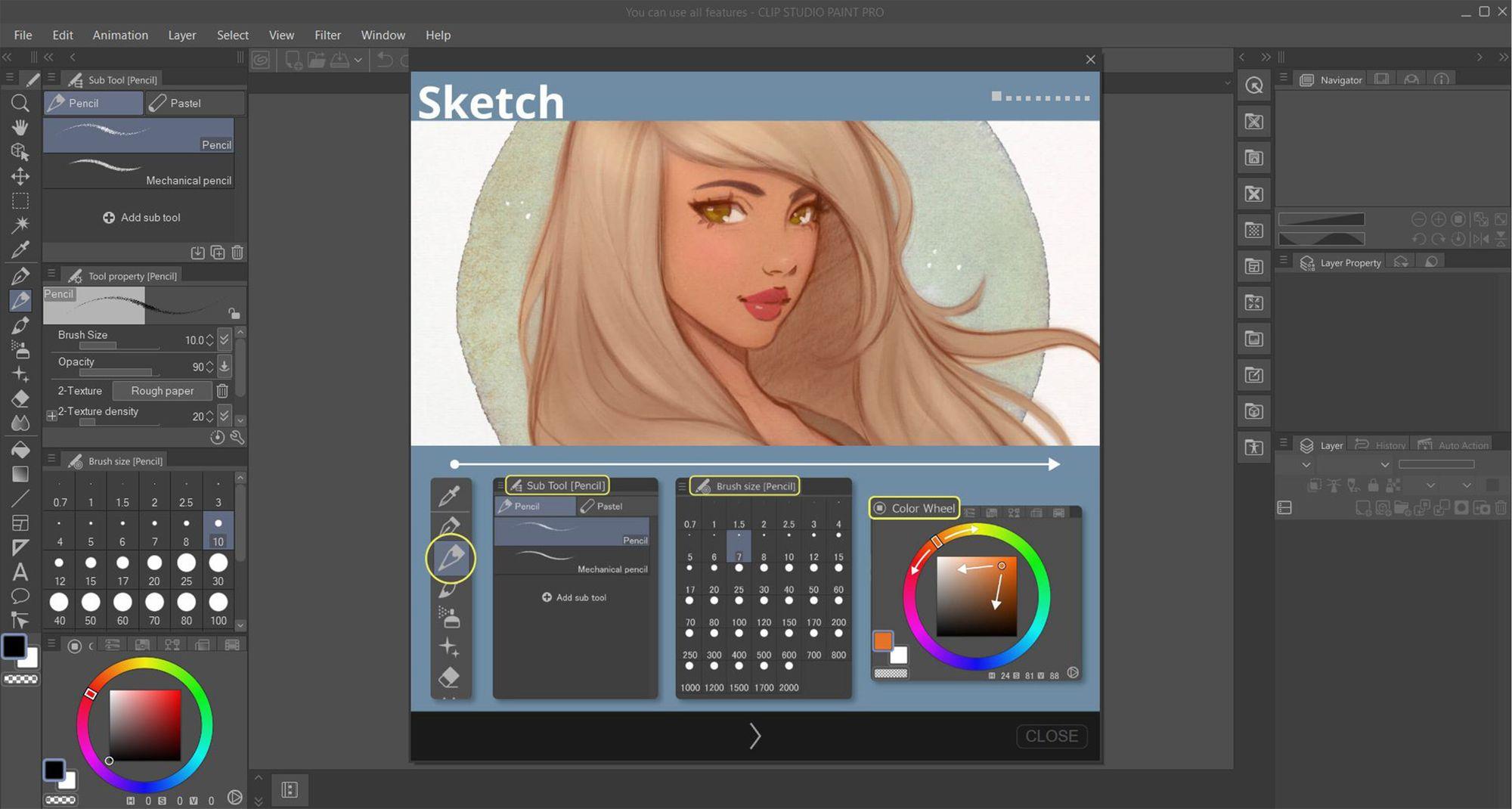 Software de ilustrações, mangás e quadrinhos (Reprodução: Isabel Marlasca)