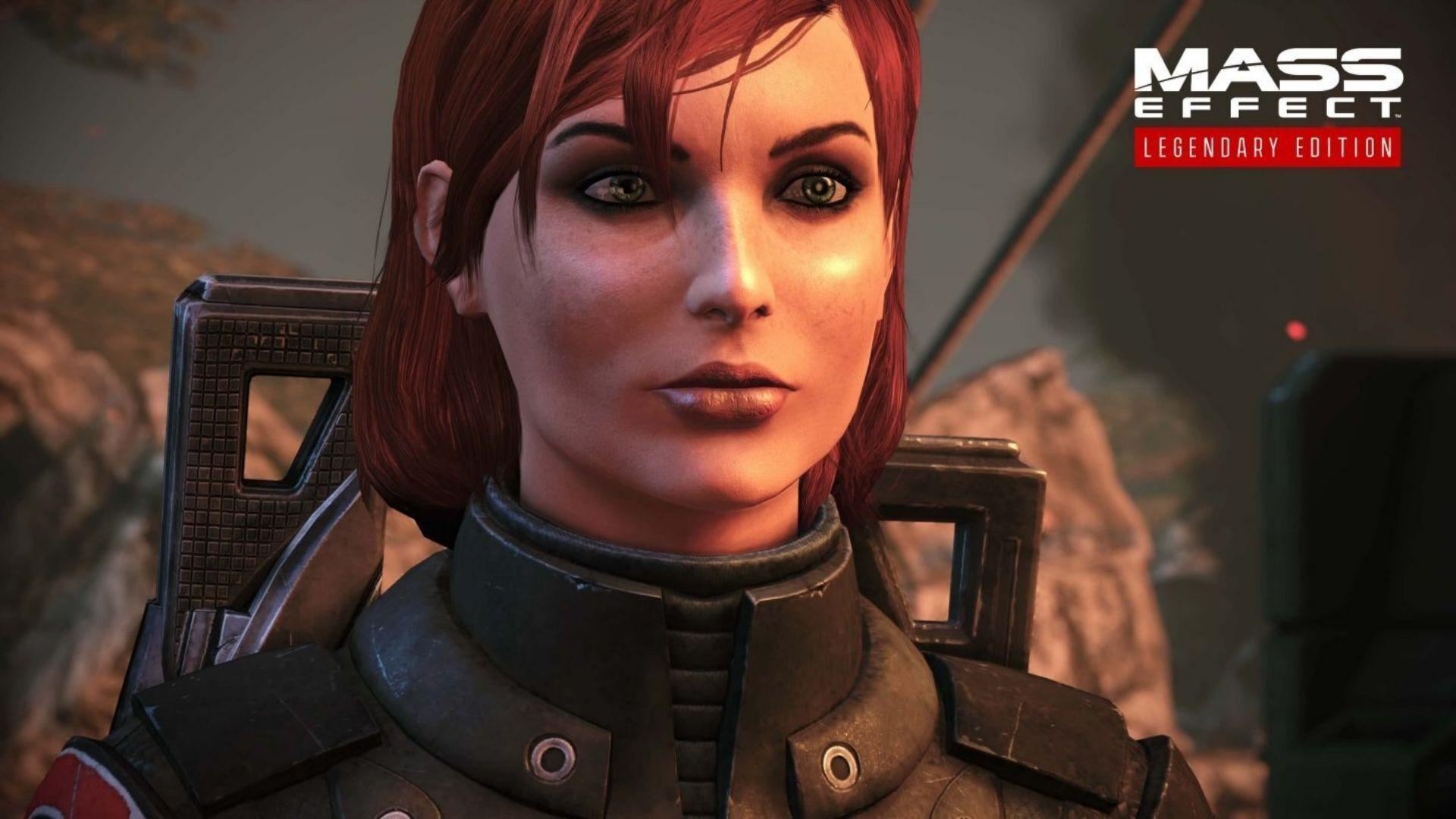 Em Mass Effect, você vive Comandante Shepard, que pode ter diferentes histórias de vida e ser homem ou mulher, um exemplo de personalização (Fonte: BioWare)