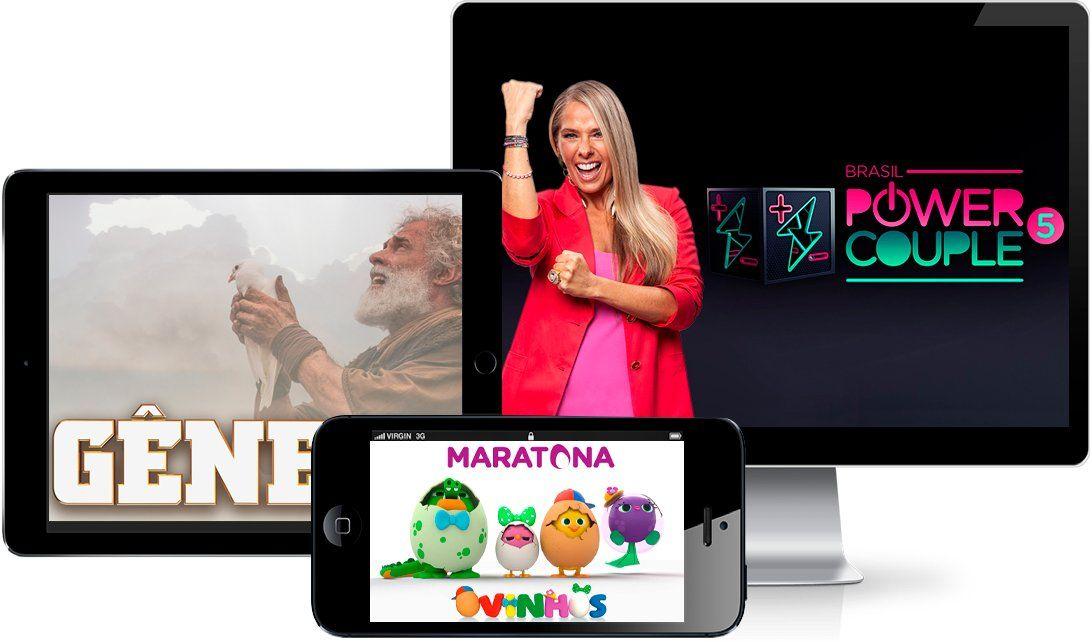 PlayPlus permite acompanhar novelas e programas da Record ao vivo e gratuitamente. (Foto: Divulgação/PlayPlus)