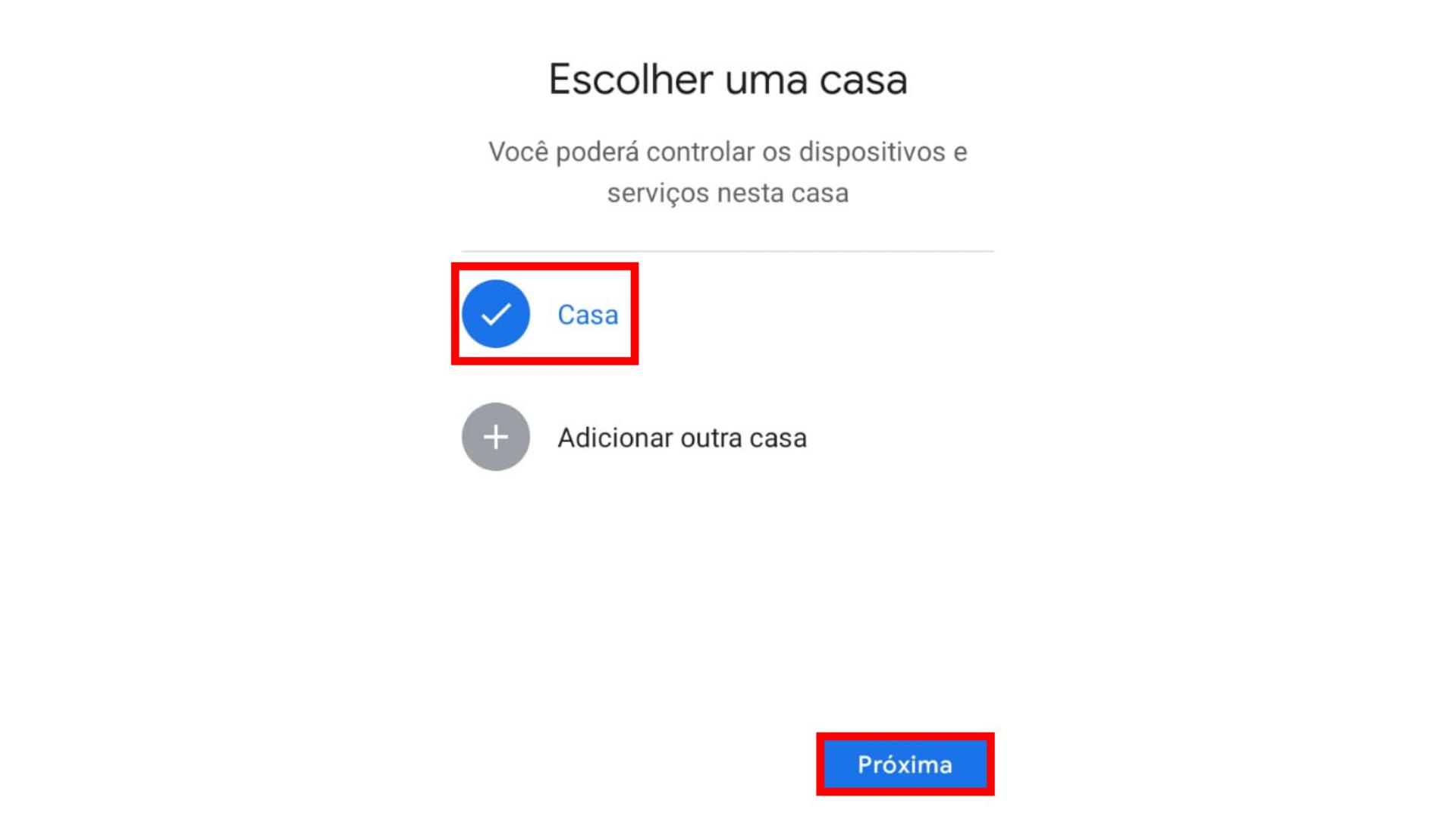Quarto passo para configurar Chromecast. (Captura de tela/Chromecast)