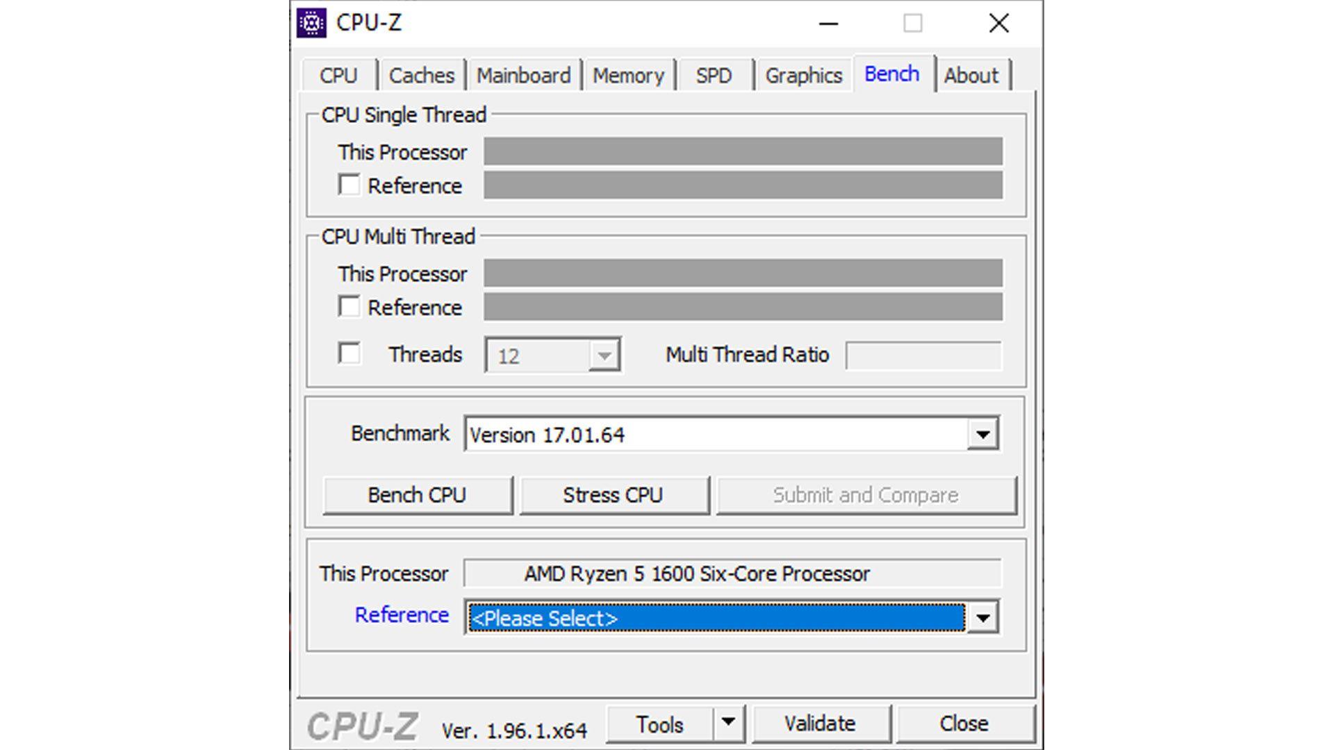Foto mostra como verificar o processador por meio do CPU-Z