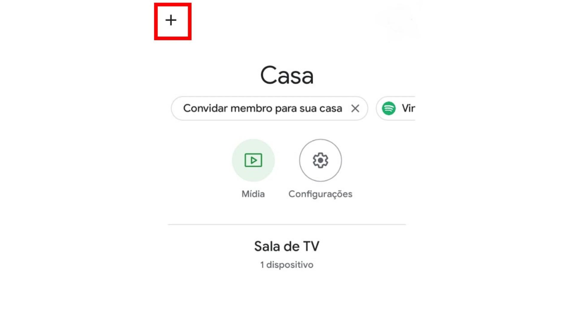 Primeiro passo para configurar Chromecast. (Imagem: Captura de tela/Chromecast)