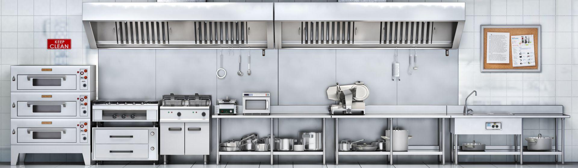 Como montar cozinha industrial: confira as dicas