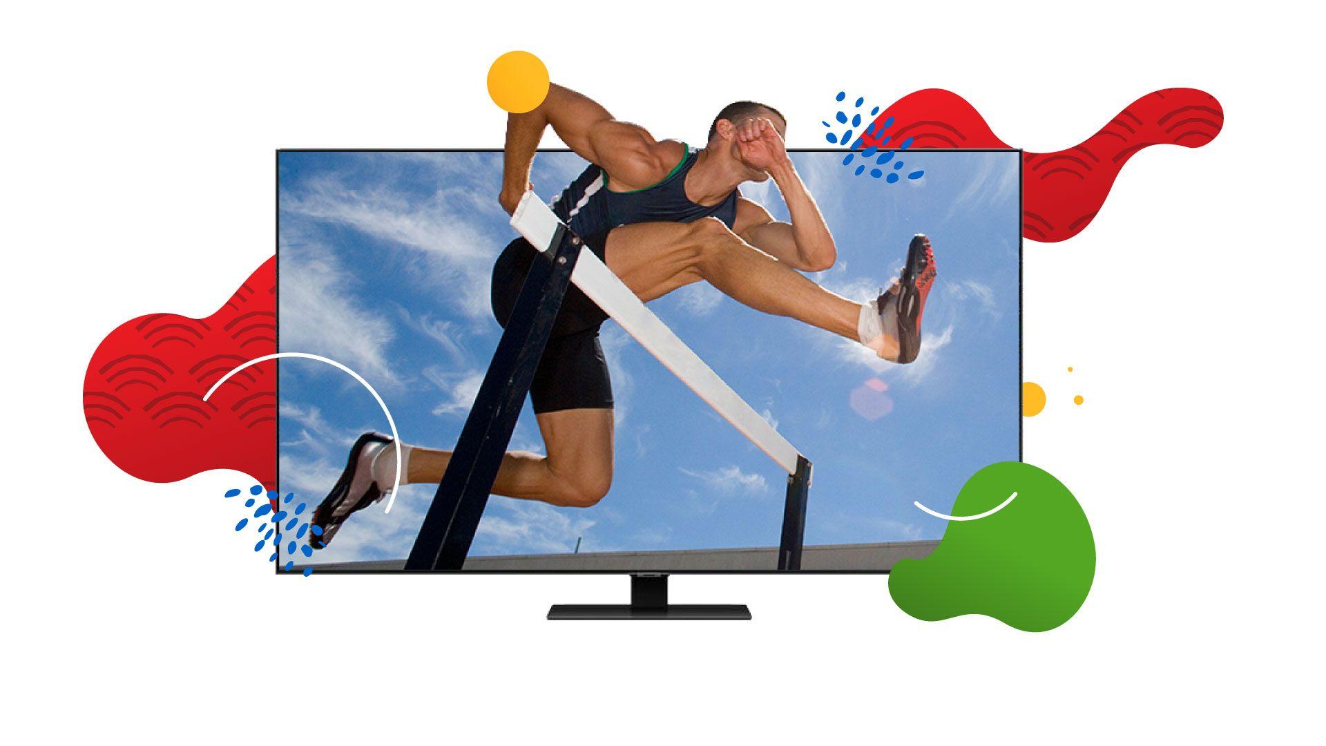 A TV certa faz toda a diferença para acompanhar as Olimpíadas. (Imagem: Zoom)