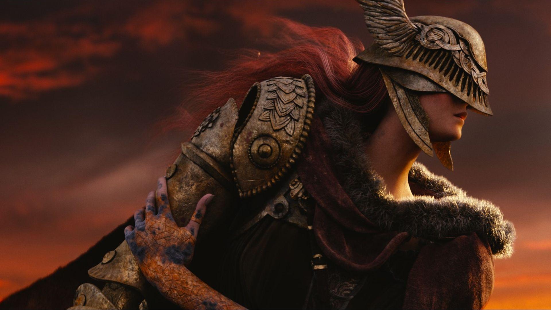 Foto mostra personagem de Elden Ring em alta definição