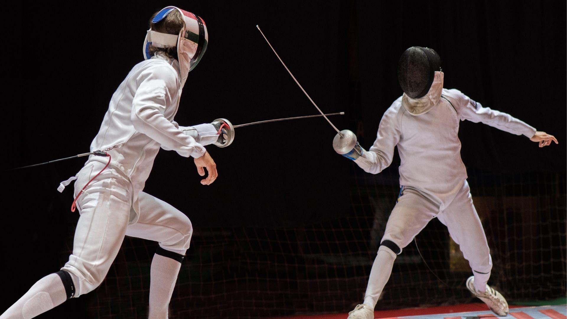 Esgrima é muito tradicional entre os esportes olímpicos (Shutterstock)