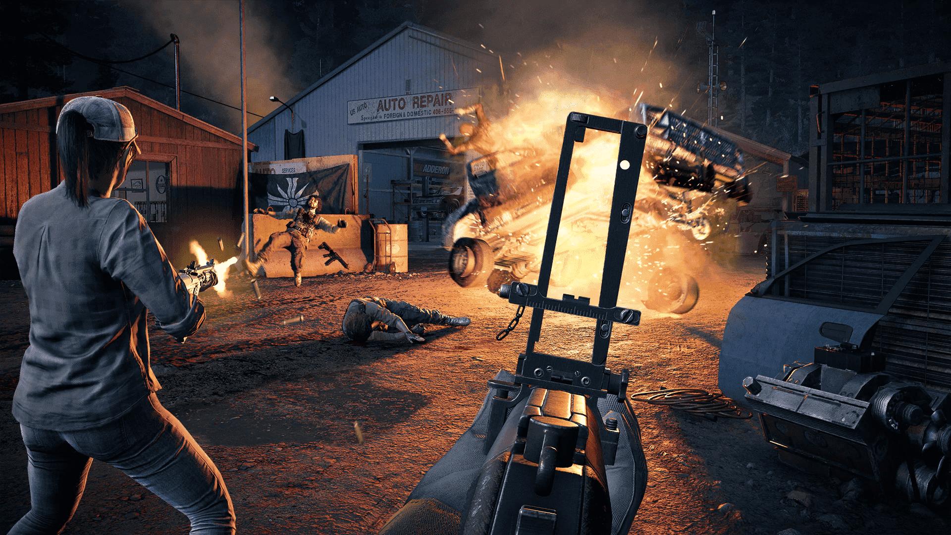 Far Cry 5 traz muita ação em um grande mundo aberto em Hope County nos Estados Unidos (Reprodução: Steam)