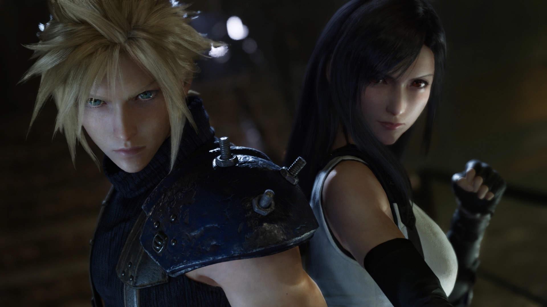 Final Fantasy VII Remake tem alguns dos personagens mais marcantes dos RPGs (Foto: Divulgação/Square Enix)