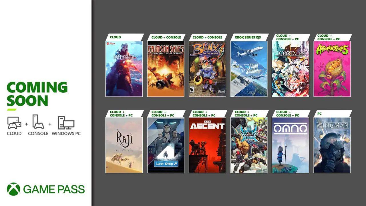 Foto mostra catálogo com doze novos jogos