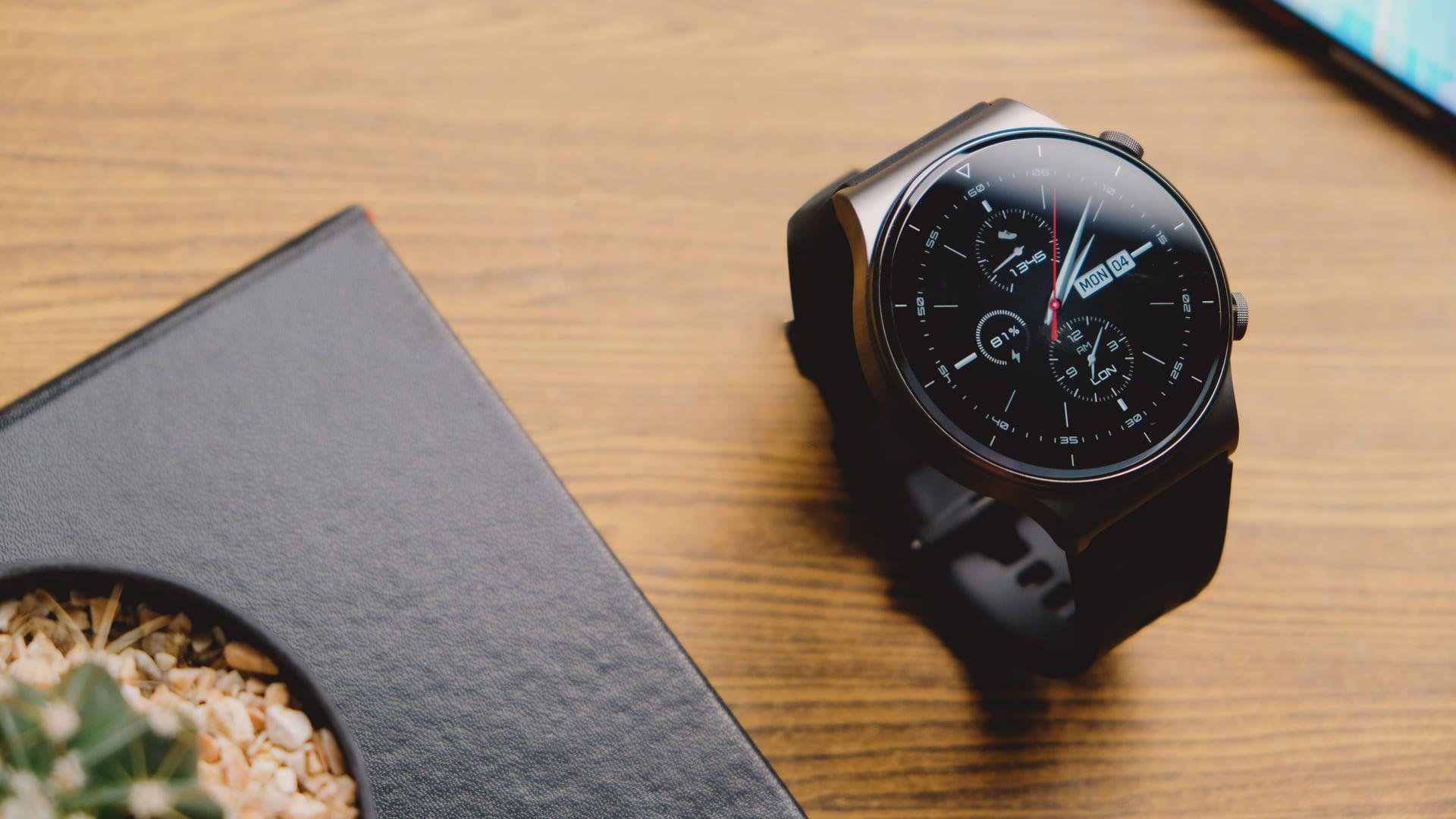 Smartwatch redondo Huawei Watch GT 2 (Foto: Shutterstock)
