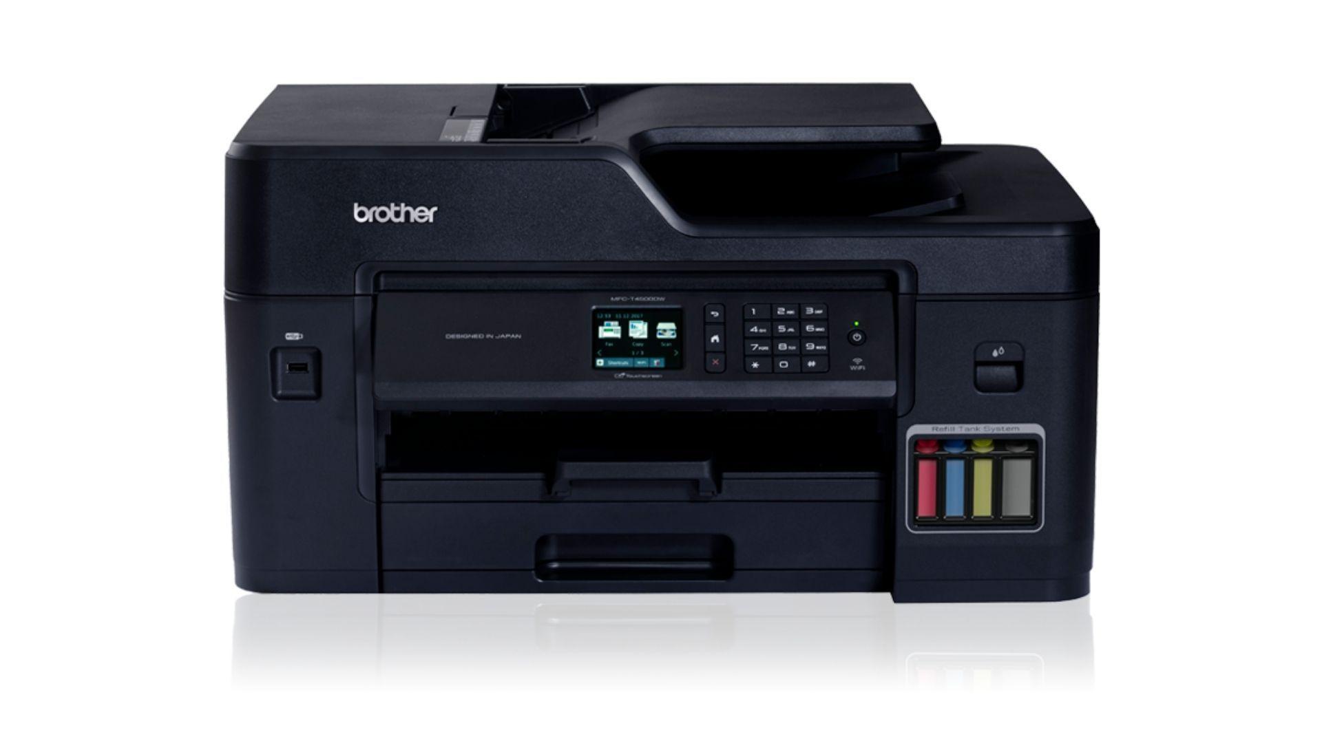 A impressora bulk ink Brother MFC T4500DW é ideal para quem tem alto volume de impressões (Divulgação/ Brother)