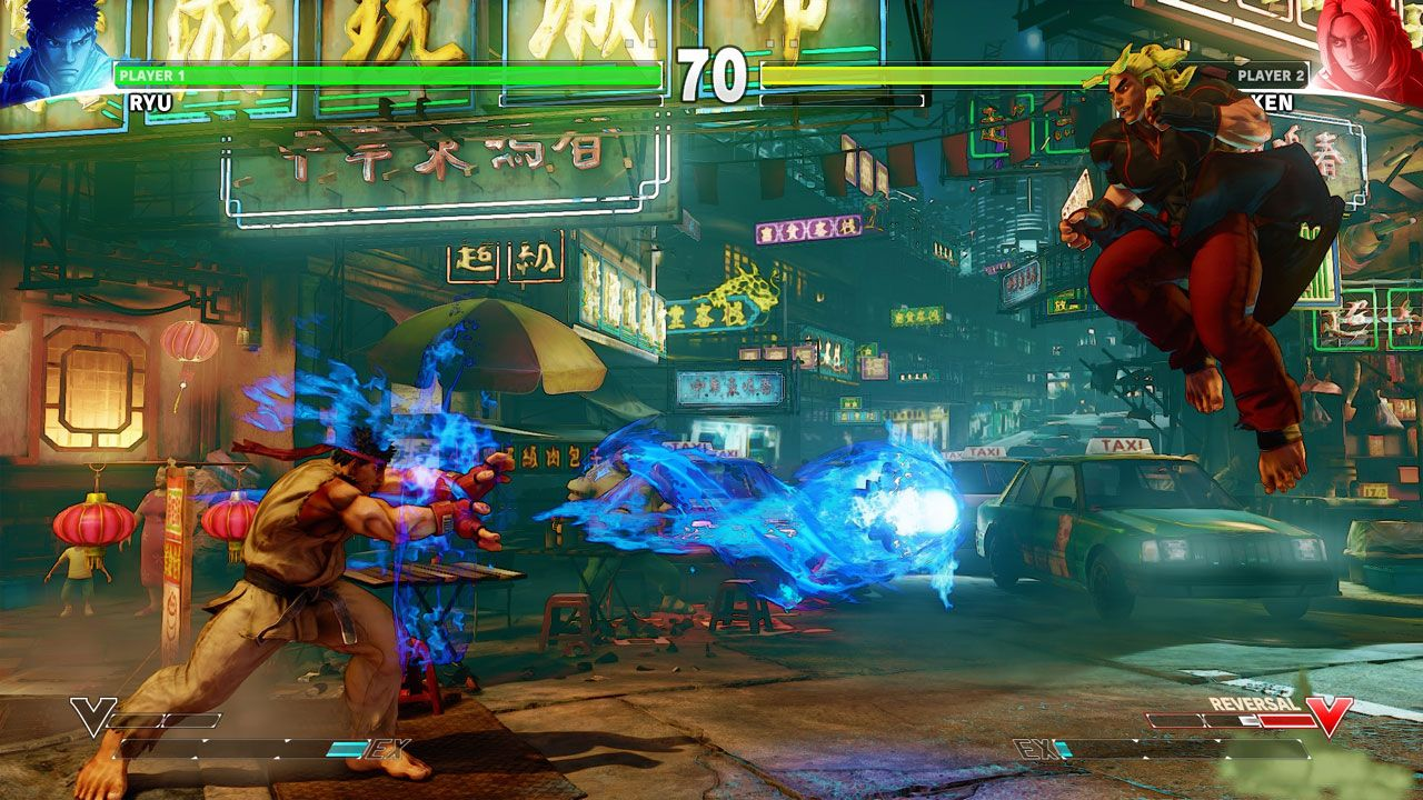 Duelo no Jogo Street Fighter V: Champion Edition