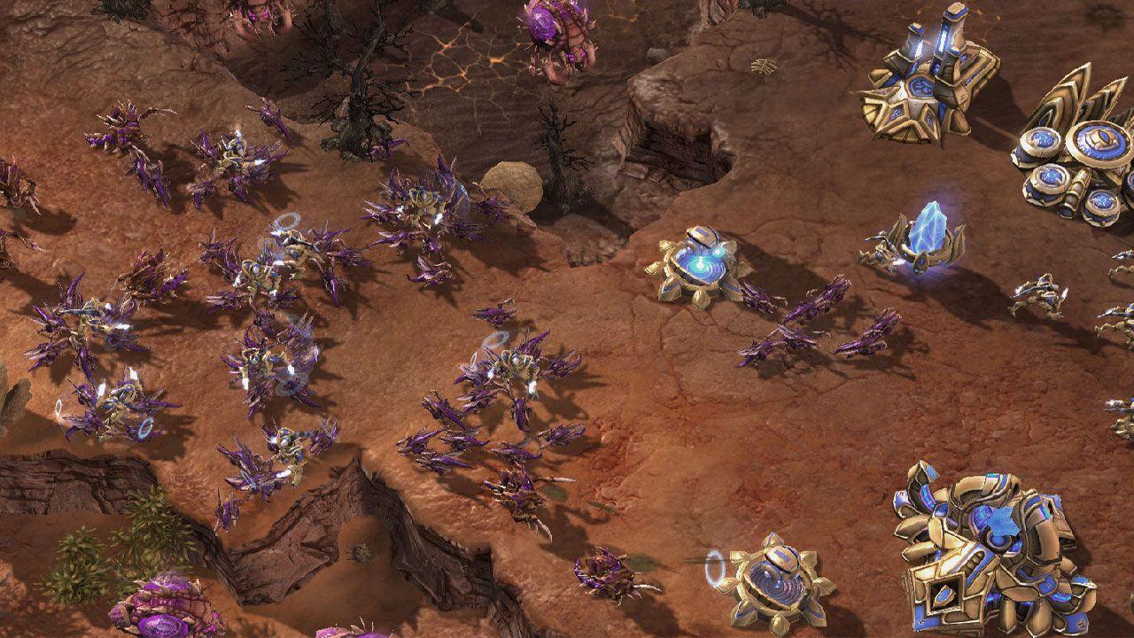 Starcraft II é até hoje um dos jogos de estratégia online mais requisitados para multiplayer (Reprodução: Starcraft II)