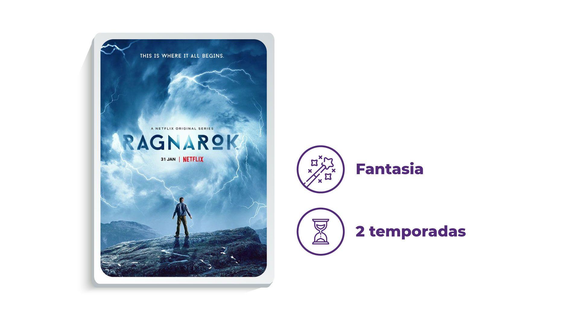 Série Ragnarok (Foto: Netflix/Zoom)