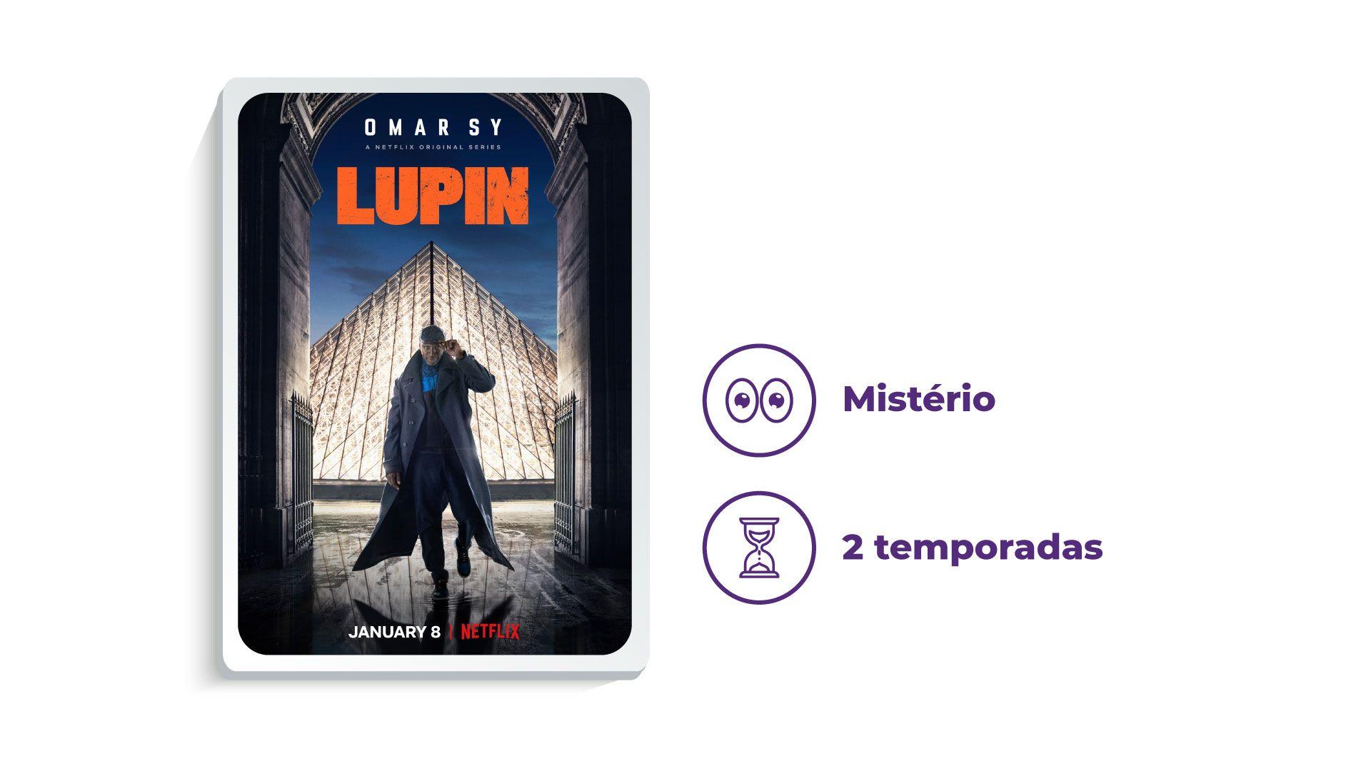 Série Lupin (Foto: Netflix/Zoom)