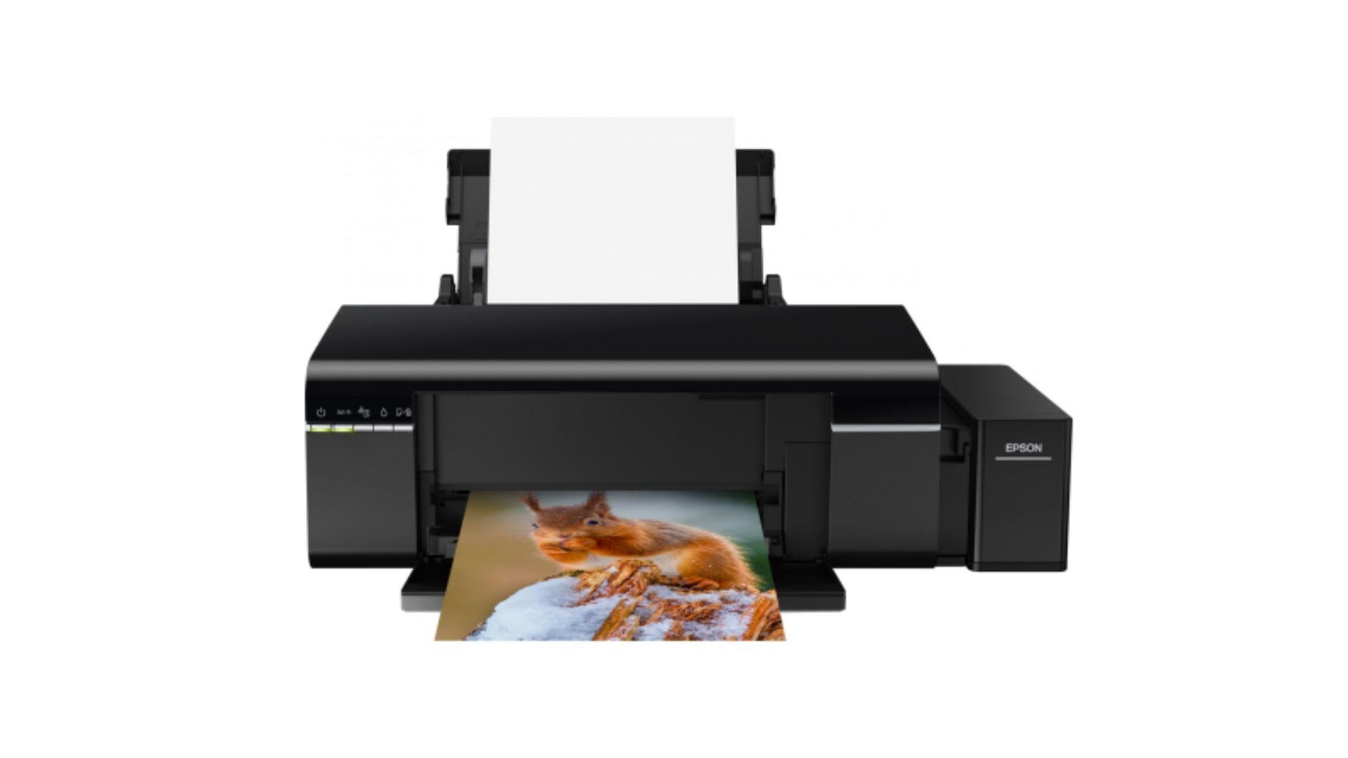 A impressora bulk ink Epson Ecotank L805 dá muito mais qualidade para as impressões fotográficas (Divulgação/ Epson)