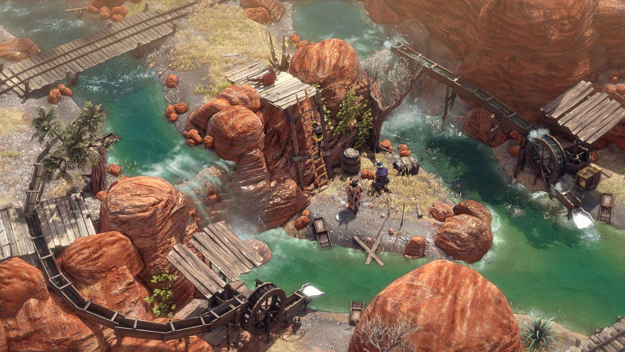 Desperados III coloca jogadores para enfrentar inimigos em condições de desvantagem para usar bem as habilidades de seus personagens (Reprodução: Steam)