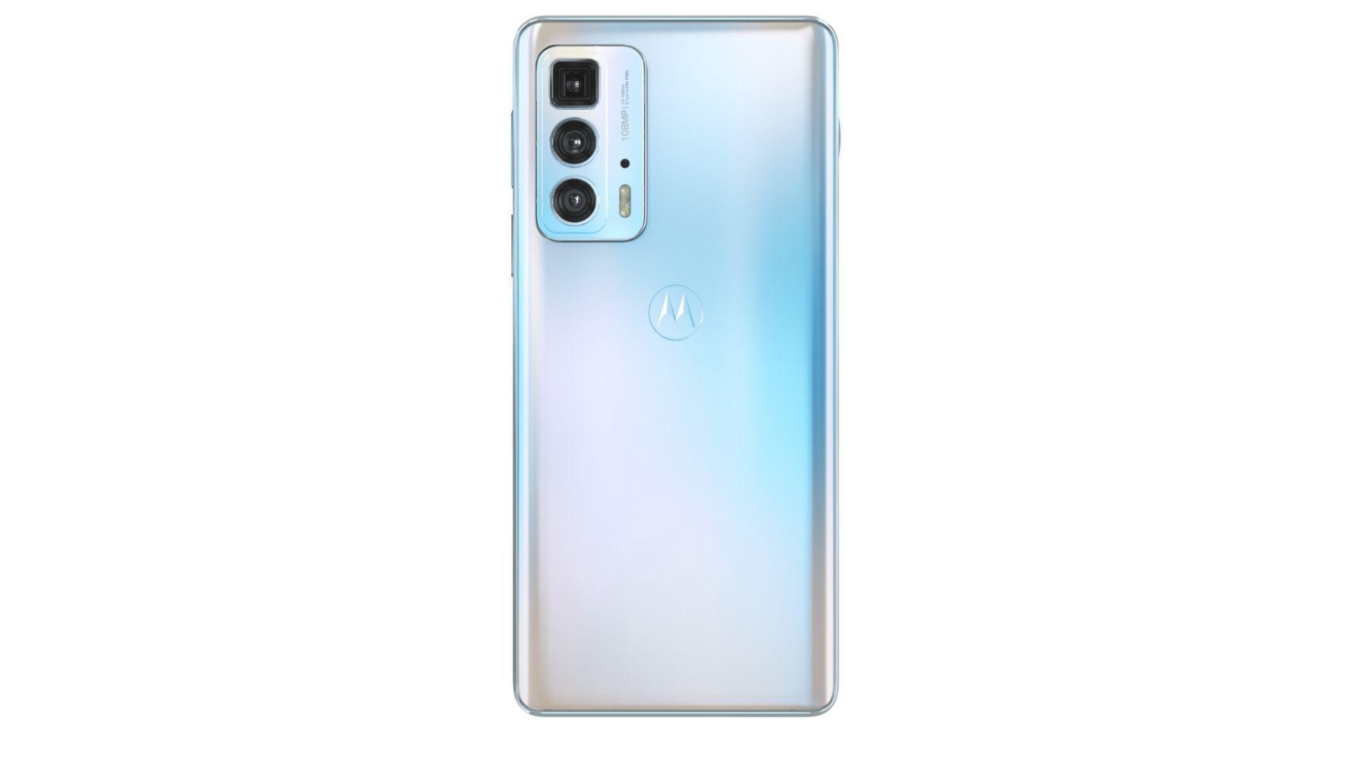 Parte traseira do Motorola Edge 20 Pro
