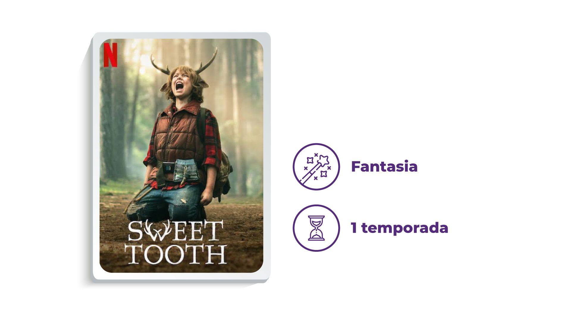 Série Sweet Tooth (Foto: Netflix/Zoom)