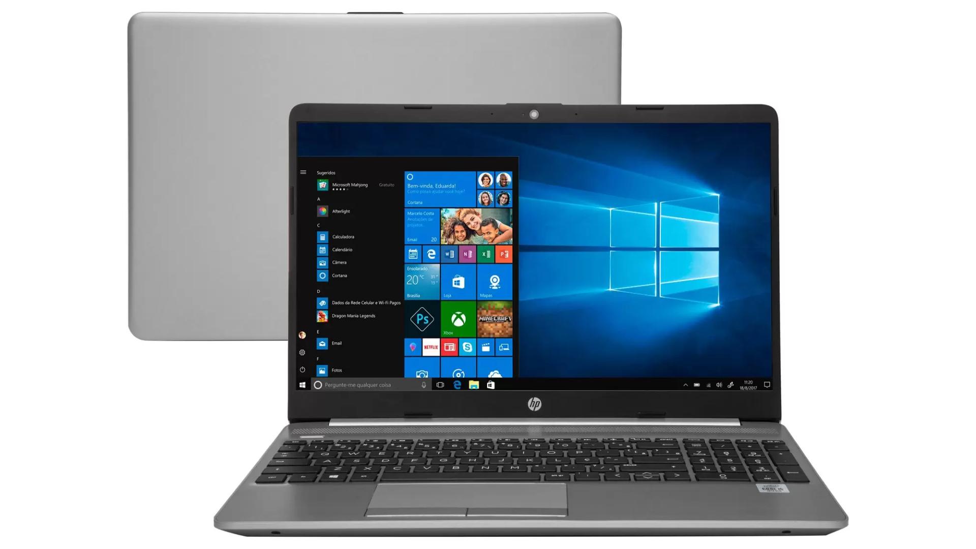 Notebook HP 250 G8 tem bom custo-benefício principalmente para trabalho (Foto: Divulgação/HP)