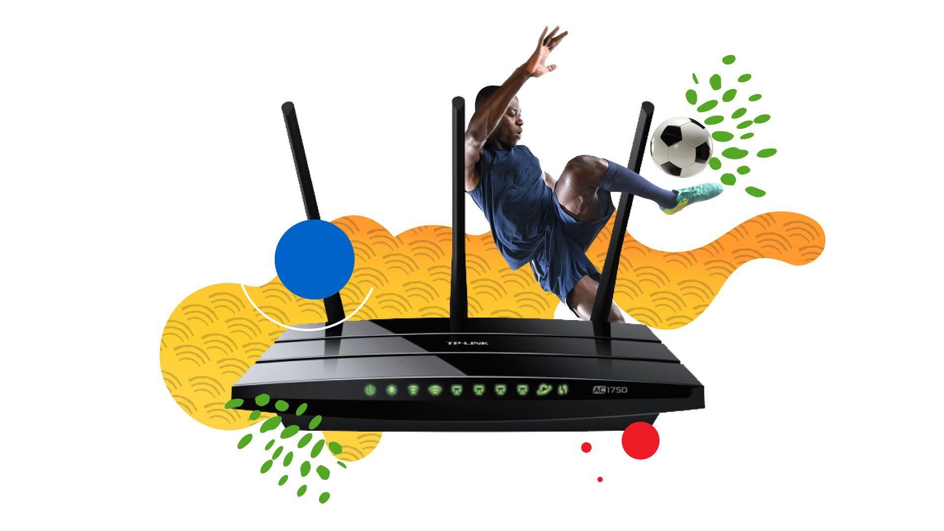 Um bom roteador pode ser a diferença entre um sinal de internet forte ou fraco. (Imagem: Zoom)