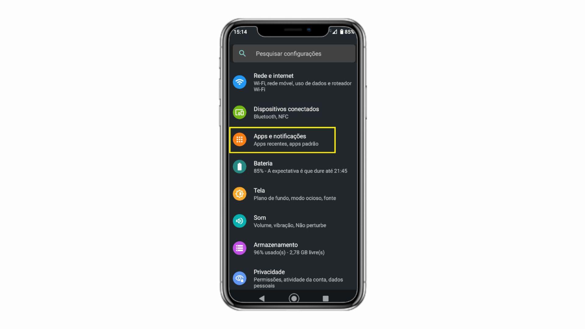 Você pode baixar Play Store no seu Android novamente pelas configurações (Foto: Reprodução/Zoom)