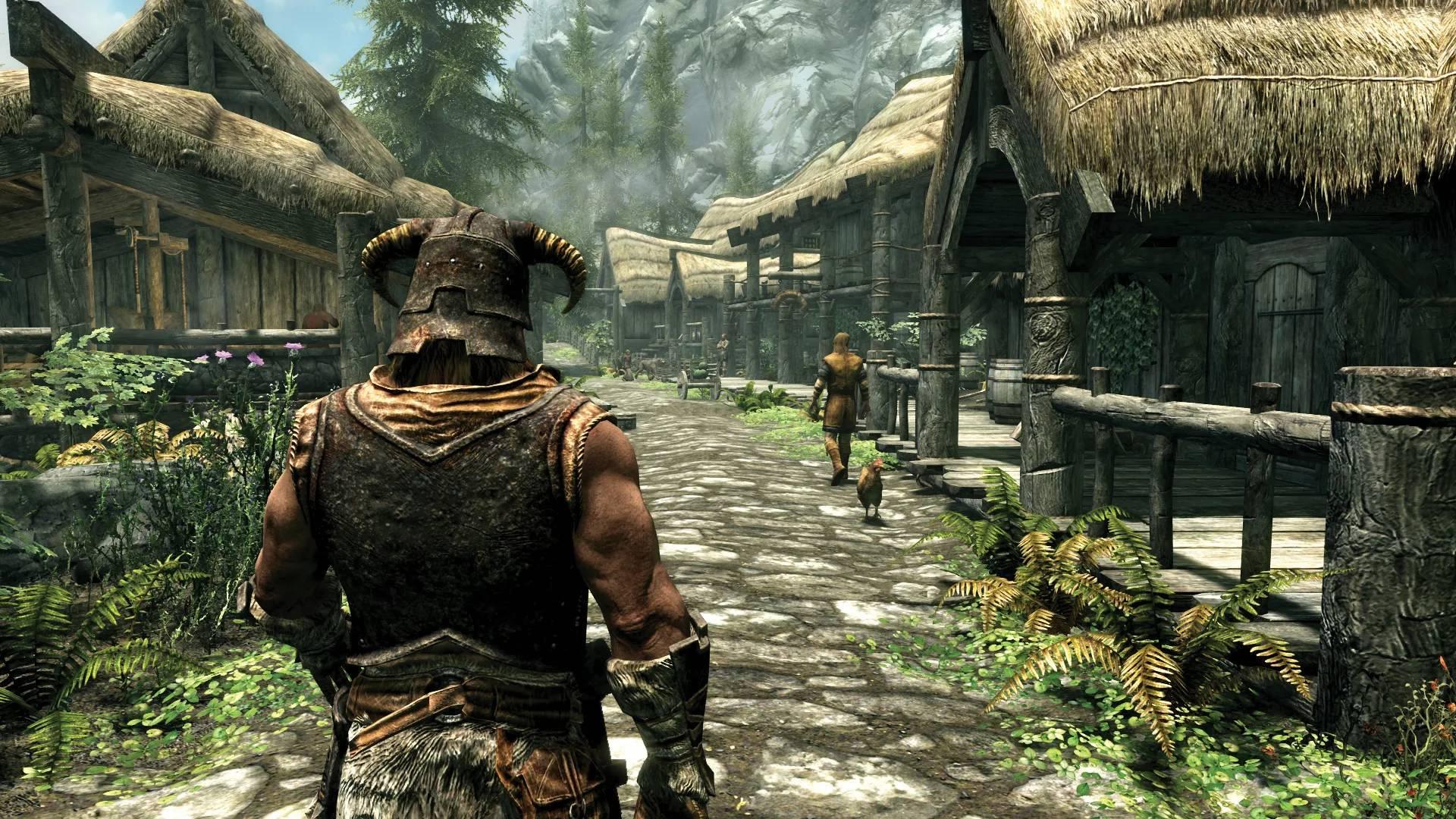 captura de tela do jogo The Elder Scrolls V: Skyrim