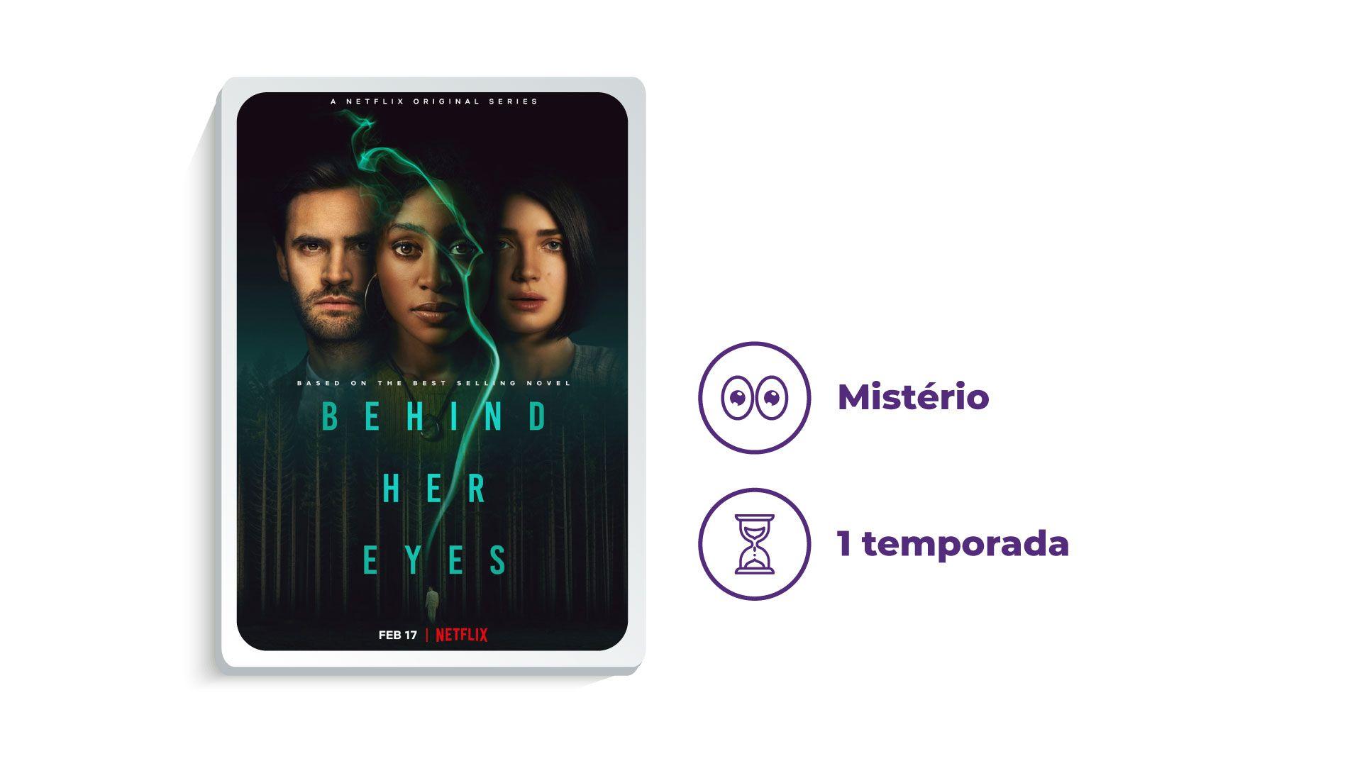 Série Por Tras de Seus Olhos (Foto: Netflix/Zoom)