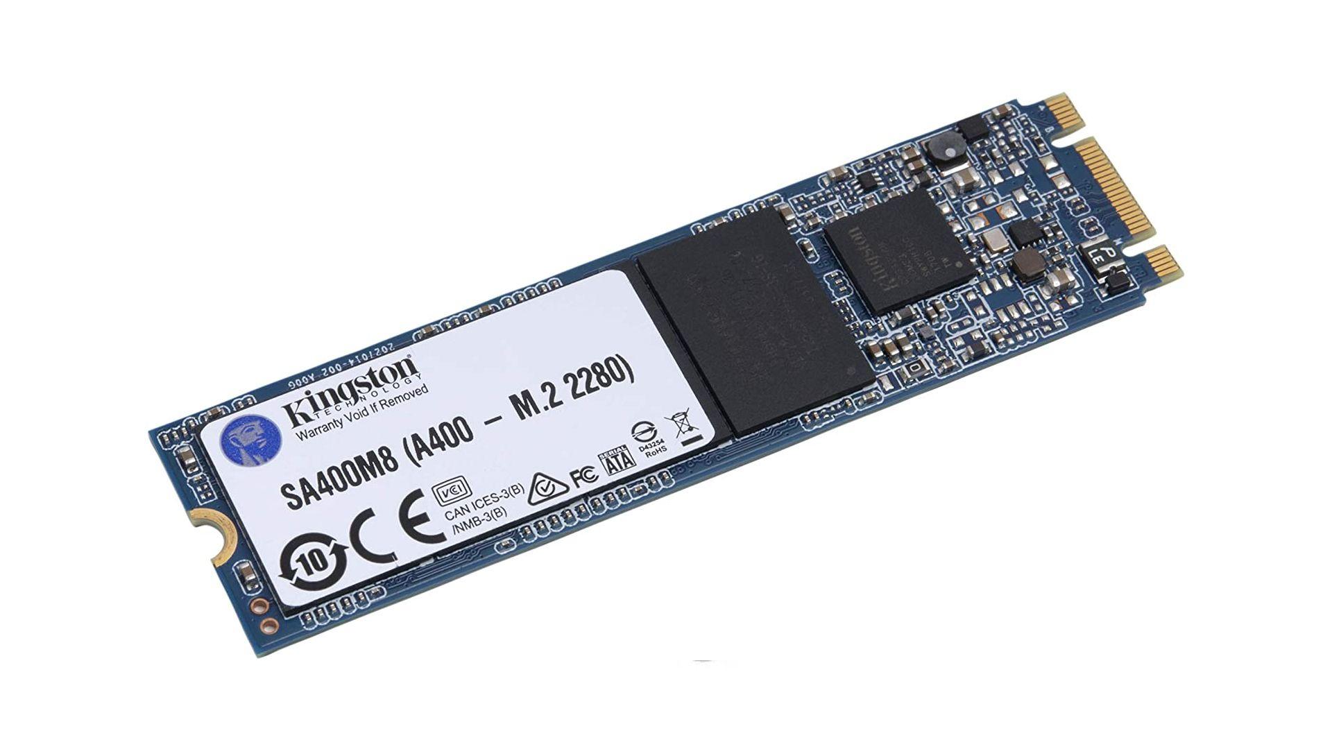 O SSD KIngston A400 garante velocidade de leitura e gravação de 500MB/s e 320MB/s. (Fonte: Reprodução)