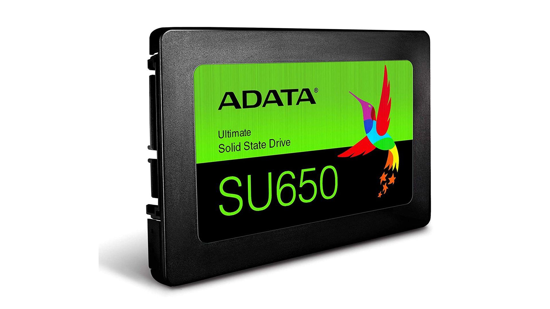 O SSD Adata SU650 é recomendado para quem não quer uma elevada capacidade de memória. (Fonte: Reprodução)