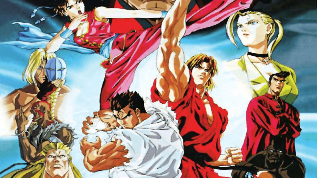 Personagens do anime Street Fighter II: V